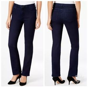 NYDJ Jeans - NYDJ Marilyn Straight Dark Wash Jeans